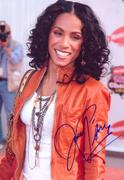 Jada Pinkett Smith In Person Autograph 19.07.10 (1X)