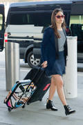 Emmy Rossum - JFK AIrport Check-in in New York 06/11/14