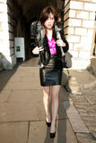 Daisy Lowe out and about in London - Dec 15, 2009