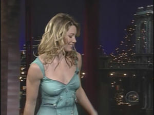 Jessica Biel - Late Show with David Letterman (2004)