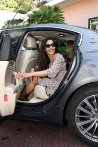 Freida Pinto Maserati at Ischia Global Fest 13-07-2014