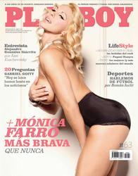 Revista: Playboy [Argentina] - Mónica Farro [PDF | Español | 27.35 MB]