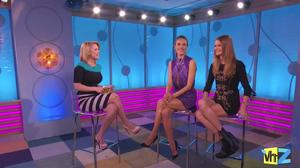 Alessandra Ambrosio & Behati Prinsloo -- BigAM Buzz on VH1,  December 4, 2012 - 720p  mp4  caps,  Legs!