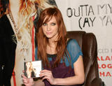 Ashlee Simpson Promotes New Single Outta My Head at Wal-Mart